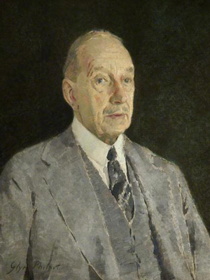 Cecil Higgins portrait